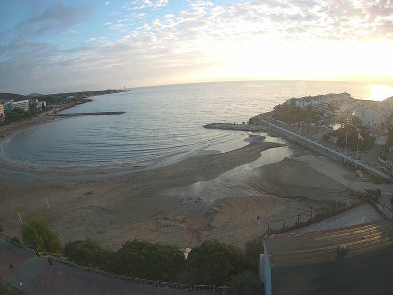 Alcossebre Beach Live Cam - Valencia, Spain 🇪🇸 1